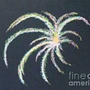 Sparkler Art Print by Alys Caviness-Gober