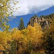 Spearfish Canyon Fortress In Rock Art Print
