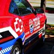 Speedway Camaro Art Print