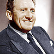 Spencer Tracy, Ca. 1940s Art Print by Everett