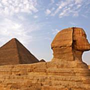 Sphinx Of Giza Art Print by Jane Rix