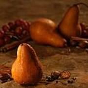 Spiced Pears Art Print