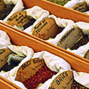 Spices On The Market Art Print