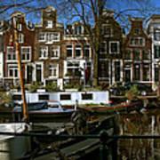 Spiegelgracht 28. Amsterdam Art Print