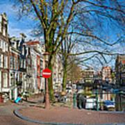 Spiegelgracht 36. Amsterdam Art Print