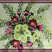 Spiral Bouquet  Art Print