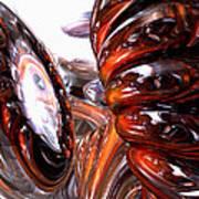 Spiral Dimension Abstract Art Print
