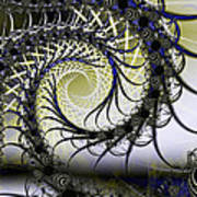 Spiral Web Art Print