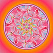Spirit Dance Art Print by Linda Pope