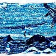 Spirit Of The Wild Blue Art Print