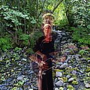 Spirit Rising From The Creek Art Print