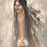 Spirit Woman Print by Charles B Mitchell