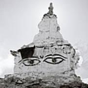 Spirituality In The Himalayas Art Print