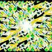 Splat 3 Art Print