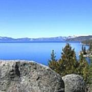 Splendid Lake Tahoe Art Print