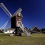 Spocott Windmill Art Print