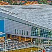 Spokane Convention Ctr From Atop Onb Art Print