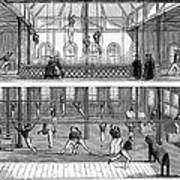 Sports: Gymnastics, 1859 Art Print