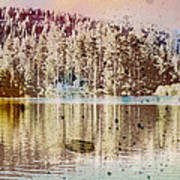 Sprayscape Lake Art Print by Stephen Sly
