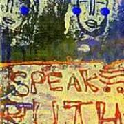 Spread Truth Angels Art Print