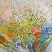 Spring - Square Painting Art Print