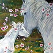 Spring Foal Art Print