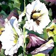 Spring Holly Art Print