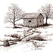 Spring House Art Print