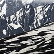 Spring In Alaska Mountains Art Print by Michael S. Quinton