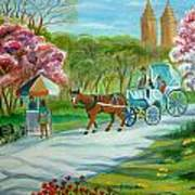 Spring In New York Art Print