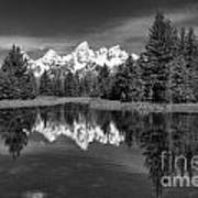 Spring In The Tetons Art Print