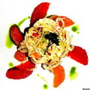 Spring Pasta Art Print