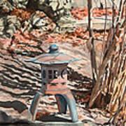 Spring Shadows Art Print by Peter Sit