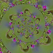 Spring Spiral. Art Print