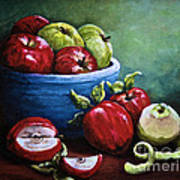 Srb Apple Bowl Art Print