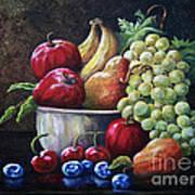 Srb Fruit Bowl Art Print