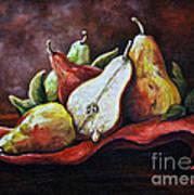 Srb Pears Art Print