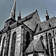 St. Bartholomew Cathedral - Pilsen Art Print
