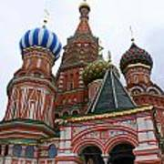 St. Basil's Cathedral 18 Art Print