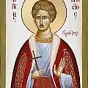 St Chrestos Of Preveza Art Print by Julia Bridget Hayes