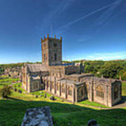 St Davids Cathedral 3 Art Print