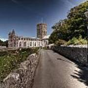 St Davids Cathedral Pembrokeshire 2 Art Print
