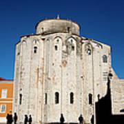 St. Donatus Church In Zadar Art Print