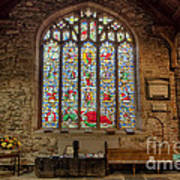St Dyfnog Church Art Print