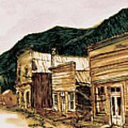 St. Elmo Nevada Art Print