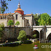 St Goncalo Cathedral Art Print by Carlos Caetano