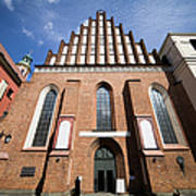St. John Archcathedral In Warsaw Art Print