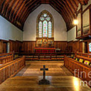 St John's Church Altar - Filey  Art Print