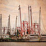 St John's Shrimping Art Print
