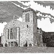 St. Joseph Apache Cathedral Art Print